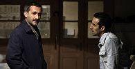 Актеры театра Йуг Хикмет Рагимов (слева) и Расим Джафар