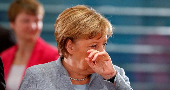 Канцлер Германии Ангела Меркель, фото из архива