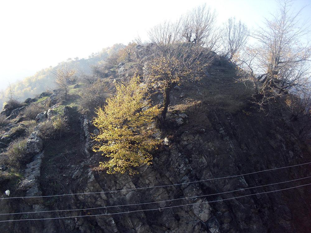 İsmayıllı rayonunun Qalacıq kəndində Ögey ana filminin çəkilişləri aparılan yerlər
