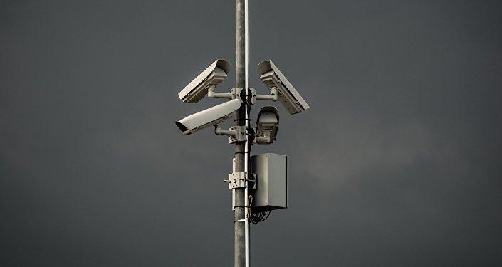Камера наблюдения, фото из архива
