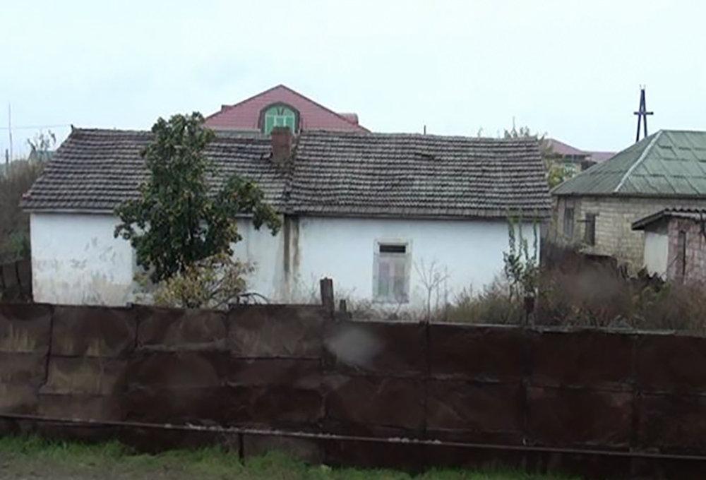 Əliyevlərin yaşadığı ev