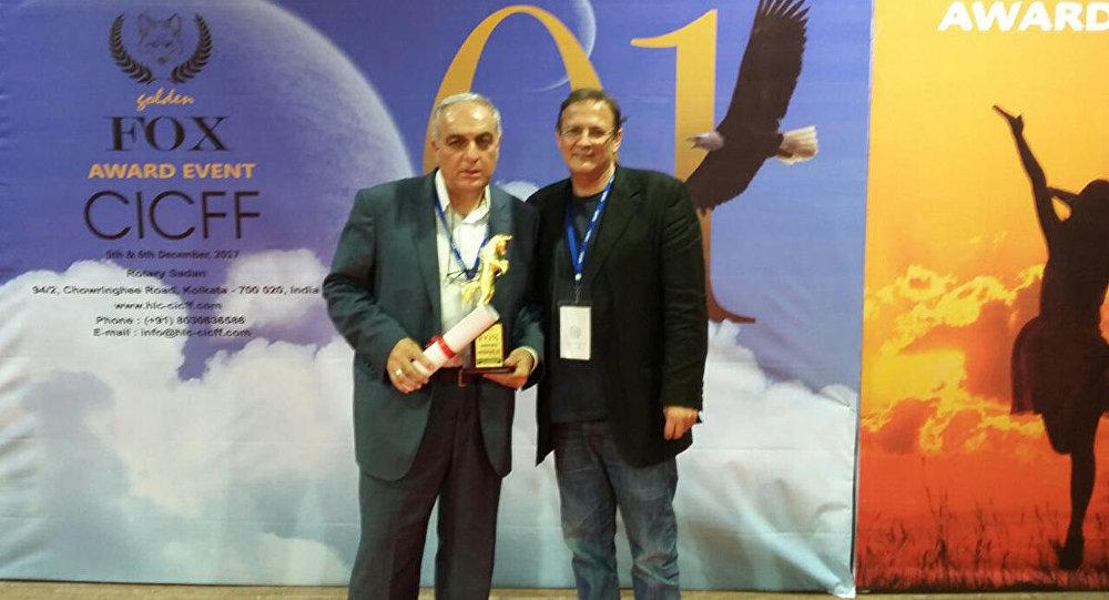 Шамиль Алиев награжден главным призом кинофестиваля Golden Fox Awards в Индии