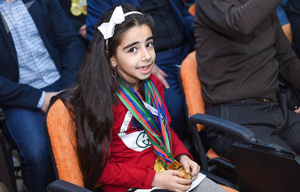 Мероприятие, посвященное итогам спортивного года в мультимедийном пресс-центре Sputnik Азербайджан