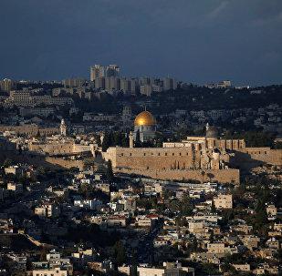 Вид на города Иерусалим, фото из архива