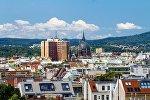 Вид на город Вену, фото из архива