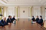 Президент Ильхам Алиев принял делегацию Государственной Думы России