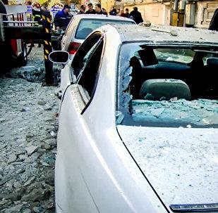 Страшный взрыв в Батуми: разрушенный дом и разбитые машины