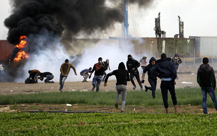 Протесты в Палестине, 10 декабря 2017 года