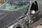 Автомобиль, попавший в ДТП, архивное фото