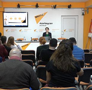 Азербайджанские журналисты участвуют в мастер-классах от Sputnik