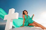Известная азербайджанская модель Камилла Бабаева