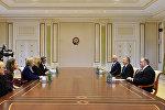 Ильхам Алиев принял делегацию во главе с Государственным министром Великобритании по торговле и поощрению экспорта, сопредседателем межправительственной комиссии баронессой Роной Фэйрхед