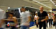İstanbulda metro qatarı, arxiv şəkli