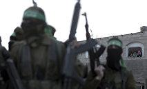 Боевики ХАМАС в Палестине, фото из архива