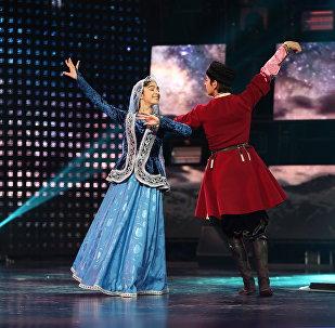 Илькин и Севиндж станцевали У родника на московской сцене
