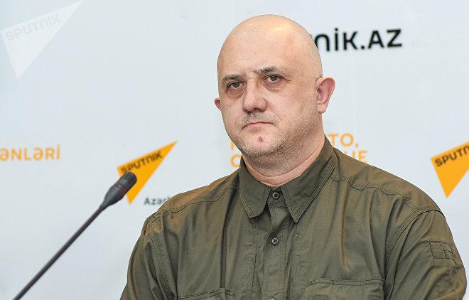 Российский политолог Евгений Михайлов