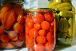 Pomidor-bibər salatı