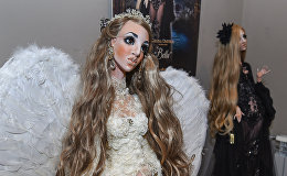 Выставка кукол грузинских и азербайджанских художников Под крылом ангела