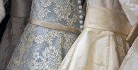 Свадебные платья, фото из архива