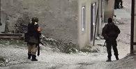 Сотрудник правоохранительных органов в селе Губден Карабудахкентского района Дагестана, фото из архива