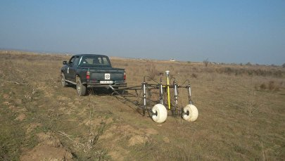 Работы по очистке от мин села Джоджуг Марджанлы
