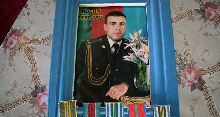Şəhid baş çavuş Fizuli Salahov