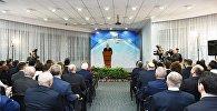 Президент Ильхам Алиев на церемонии, посвященной спортивным итогам 2017 года