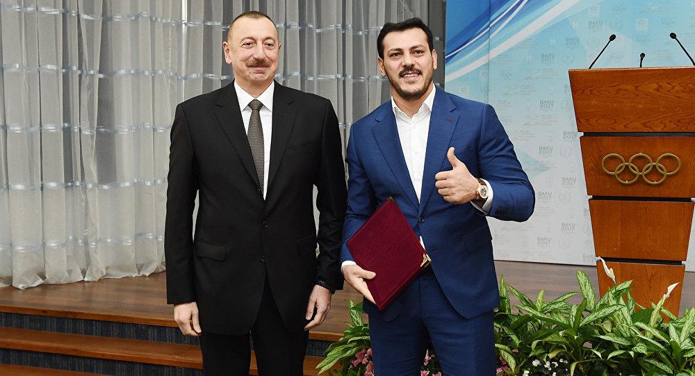 Prezident İlham Əliyev və Zabit Səmədov