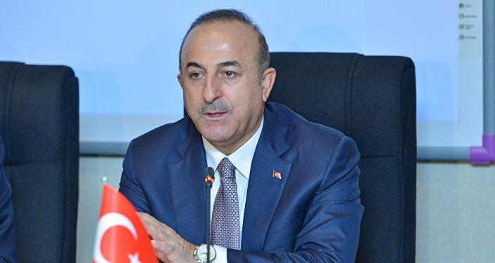 Глав МИД Турции Мевлют Чавушоглу