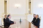 Prezident İlham Əliyev ABŞ-ın Etnik Anlaşma Fondunun prezidentini qəbul edib
