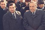 Aleksandr İvanov və Heydər Əliyev