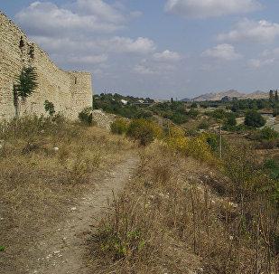 Крепость в оккупированном Арменией городе Аскеран, фото из архива