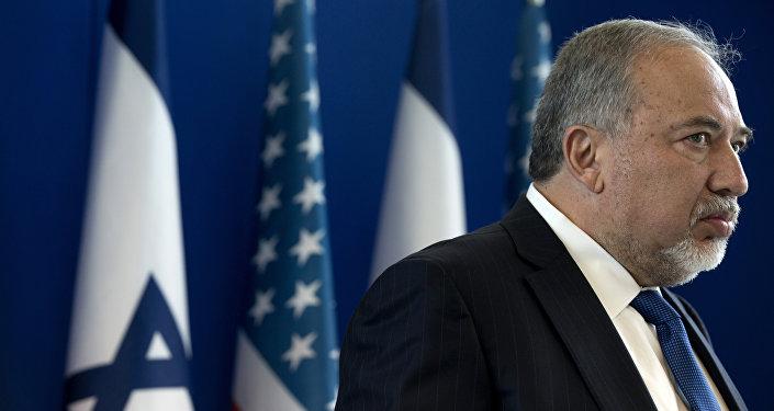 Министр обороны Израиля Авигдор Либерман, фото из архива