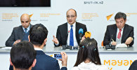 Политологи Заур Мамедов и Заур Ибрагимли подвели политические итоги уходящего года в мультимедийном пресс-центре Sputnik Азербайджан