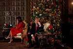 ABŞ prezidenti Donald Trump və birinci xanım Melania Trump