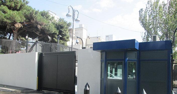 Здание посольства США в Баку, фото из архива