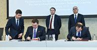 Визит российской делегации в Азербайджан во главе с министром экономического развития РФ Максимом Орешкиным