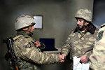 Министр обороны принял участие в открытии солдатской казармы на передней линии обороны