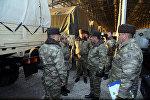 Министр обороны встретился с личным составом еще одной воинской части