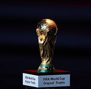 Кубок чемпионата мира по футболу на официальной жеребьевке чемпионата мира по футболу 2018