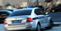 Rusiyada polis avtomobili, arxiv şəkli
