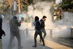 İranda etirazlar
