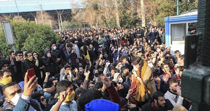 İranda etirazlar, 30 dekabr 2017-ci il