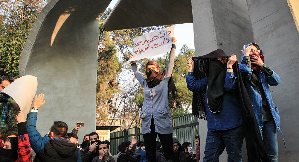 Уже 10 жертв— Протесты вИране