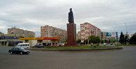 Центральная площадь в городе Гардабани (Гаратепе), Квемо-Картли, Грузия, фото из архива