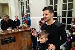 Владимир Зеленский встретился с поклонниками в Габале