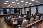 Служебное совещание в Министерстве обороны