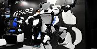 Toyota şirkətinin hazırladığı robot, arxiv şəkli