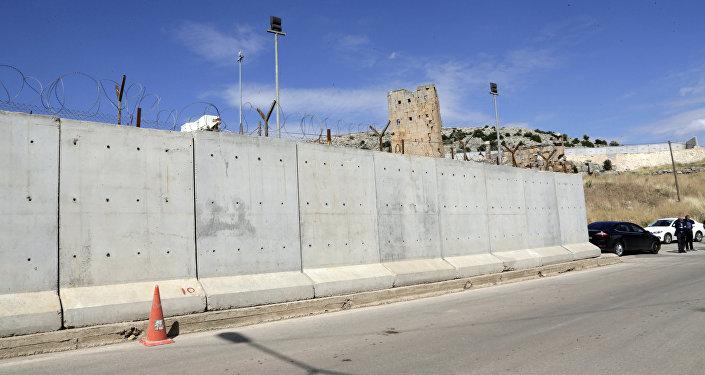 Cтена на границе Турции с Ираном, фото из архива