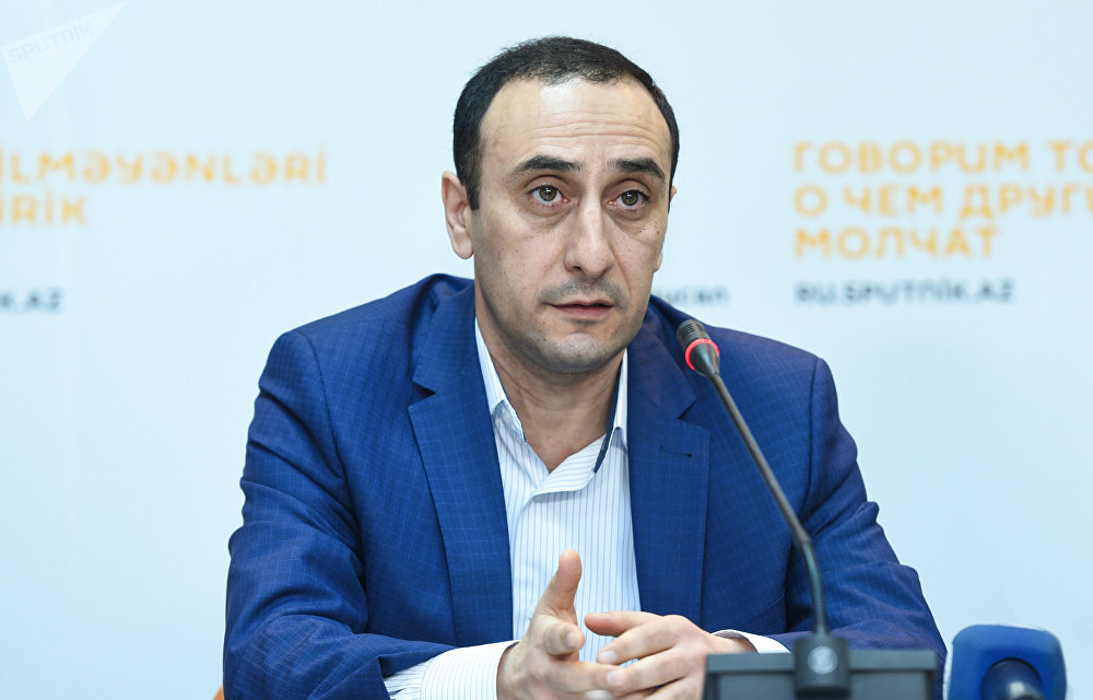 Директор Центра истории Кавказа, азербайджанский историк Ризван Гусейнов